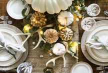 Thanksgiving Decor / Tablescapes and decor that we're truly thankful for!