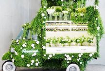 Flowershop on wheels