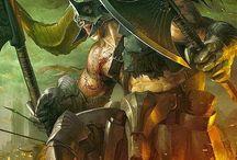 Fantasy - Centaurs and Minotaurs