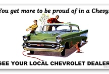Chevrolet Vintage Billboards / Chevrolet Vintage Billboards from the GM Heritage Collection / by Crotty Chevrolet Buick