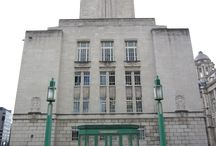 Art Deco Architecture / Buildings that can inspire design