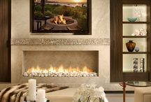Fireplaces Design Connection, Inc. Loves | Kansas City Interior Design / We hope some of our favorite designs will inspire you to create the fireplace of your dreams. For even more inspiration, check out our Interior Design Portfolio http://www.DesignConnectionInc.com/Portfolio  / by Design Connection, Inc. Kansas City Interior Design