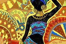 zenci kadın