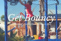 Trampoline Fun / Outdoor fun wouldn't be complete without a backyard trampoline.  Recognised as one of the healthiest activities for physical fitness, a backyard trampoline offers kids hours of fun and entertainment!  Help free your kids from sitting around the house with an AlleyOOP safety trampoline and enclosure.  Create an environment where they can enjoy the outdoors and a breath of fresh air, safely.  There's no better piece of backyard equipment than an AlleyOOP trampoline from Aarons Outdoor Living.