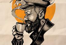 Histórias em uma xícara de café - posters