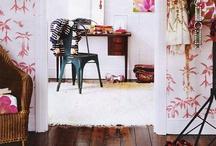 single-girl style / a spectrum of feminine decor (even if it isn't a single woman's home)