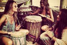 Drums  & Bongs.....
