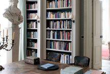 Inspiration: Bookshelves