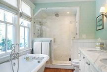 Upstairs Bath / by Steve@AnUrbanCottage