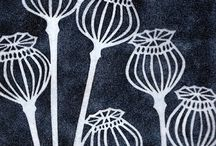 Lino cut flowers