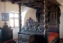 Medieval and Tudor furniture - Inspiration for Miniatures