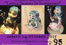Corso Halloween 2015 / Corso di Cake Design su Halloween #corso #cakedesign #castelliromani #tortedecorate #pastadizucchero #store #halloween  www.torteamorefantasia.com
