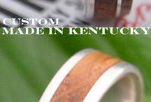 Bourbon Barrel Wood Rings