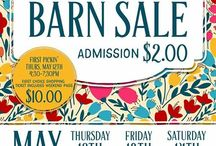 The Hayloft Spring 2016 / Barn Sale with 50 plus vendors. Vintage, Handmade, Repurposed, Art, Jewelry and a little Rusty mixed in.