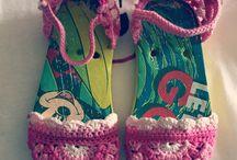 Sandalias Serendipia / Sandalias realizadas totalmente a mano a ganchillo