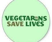 Vegetarians save lives!