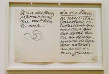 Henri Matisse / Il ya des fleurs partout pour qui veut bien les voir.