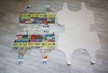 Confection sac tissu