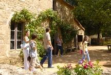 Promenade familiale / Au Grand Parc du Puy du Fou, vous pouvez traverser de véritables villages anciens et vous plonger plusieurs siècles en arrière !  Prolongez votre voyage dans le temps en séjournant dans l'un des hôtels de la Cité Nocturne.