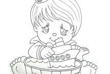 Desenhos Meninos / Desenhos, ilustrações coloridas e preta e branca de bonecos e meninos e personagens de meninos.
