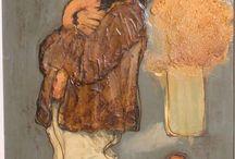 Cuadros / Venta de cuadros de mi propiedad de autores de mediados del siglo XX.