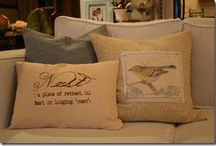 Pillows  / by Misty Waldenville