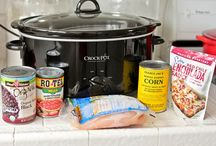 crockpot meals / by Janet Schield