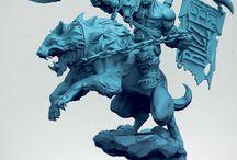 Скульптура / Zbrush
