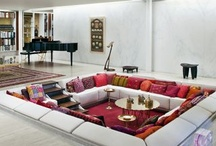 The Conversation Pit / The bohemian style of the 1970s is making a comeback, as can be seen in on the runways of all the major fashion houses this autumn.What better way to celebrate the resurrection of all things groovy than a nod to the most highly sought after interior devise of the age: the conversation pit?