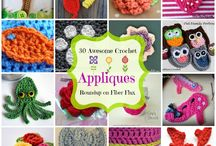 Edgings and extras / crochet edges and appliques  / by Christina Covington