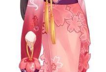 kimono anime