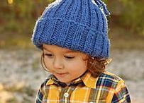 Chidrens hat knitted patterns