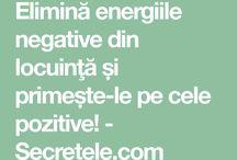 energii negative alungate din casă