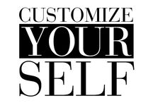 Customize yourself