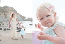 Pink pastel beach shoot