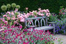 Sitzplätze im Garten