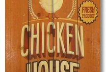 CHICKEN. HOUSE  RESIDENTS