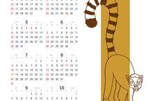 Calendar for printing / 印刷ができるカレンダーです。