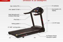 Smooth treadmills