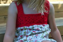 Crochet - yoke dresses and tops