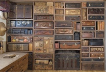 ❤️ Old Suitcases & Trunks