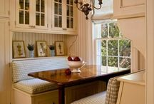 Breakfast nook / by K.c. Conway