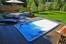 Hydropool Swim Spas / Hydropool Canadian Made swim spas offer the best swim and energy efficiency of any swim spa on the market. Pair that with the world class service provided by The Spa Shoppe and you've got a winning combination!