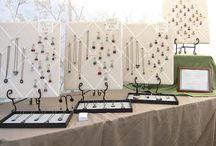 storage and displays for beads and jewelry / by Andrea Talsma