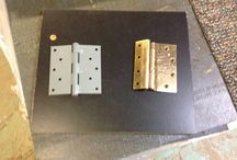 Industrial Hinges / HOOD'S West Alton, Missouri has received some industrial hinges for doors.  Use these to finish off your business or room.  Come in and check out all of our inventory.