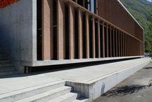 Edificio Commerciale/Amministrativo a Melano (Svizzera) / Opera di Nicola Baserga e Christian Mozzetti (2015)