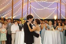 Great ideas for decorating your tent reception