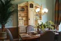 Divine Dining Rooms / The designs on this board were created with love by our amazing team at Knotting Hill Interiors.  For more information please visit www.knottinghillinteriors.com or email Kimberly@knottinghillinteriors.com
