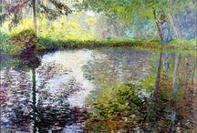 Claude Monet paintings