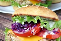 Scrumptious Sandwiches + Burgers / by Stephanie | Girl Versus Dough